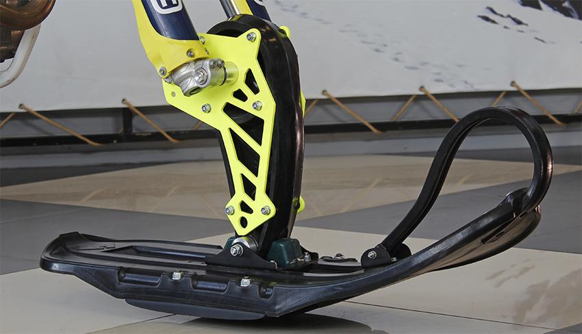 Лыжа для мотоцикла сноубайка